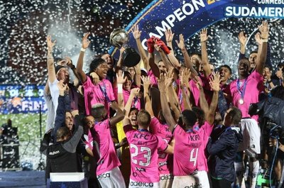 Independiente del Valle, un club modelo campeón de la Sudamericana