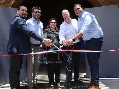 APF inauguró modernas obras