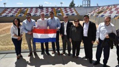 """Habilitan oficialmente el estadio mundialista """"Los Pynandi"""""""