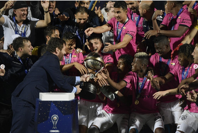 Independiente Del Valle celebra su primera gran conquista