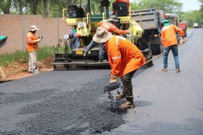 Preparan caminos para la fiesta de Caacupé