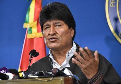 Presidente de Bolivia, Evo Morales, anuncia su renuncia por televisión