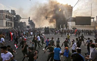 Seis semanas de protestas dejan más de 300 muertos en Irak