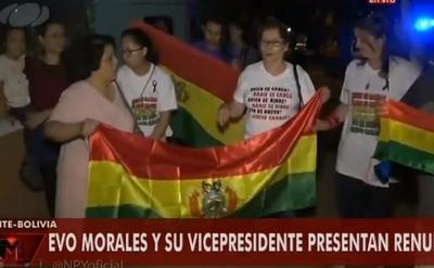 Bolivianos están en vigilia en embajada