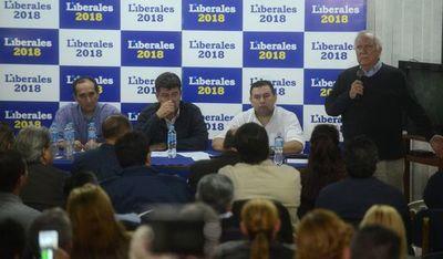 Ayala descarta que se unifiquen las bancadas liberales en el Senado