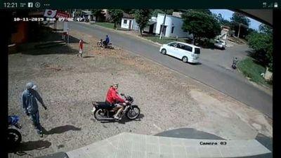 Víctimas logran recuperar motocicleta hurtada en Piribebuy