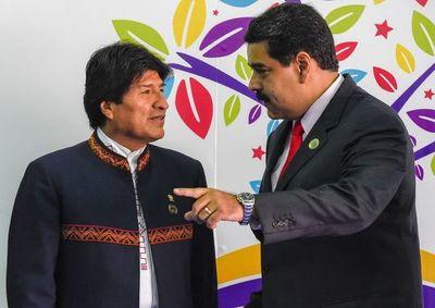 """Encapuchados """"tomaron"""" embajada de Venezuela en Bolivia"""