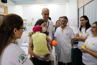 El primer trasplante alogénico de médula ósea se realizó en Acosta Ñu