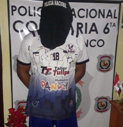 Cae hombre con cocaína en Franco