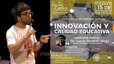 UCI INVITA A LA I JORNADA INTERNACIONAL DE INNOVACIÓN Y CALIDAD EDUCATIVA