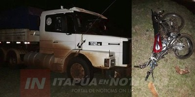 FATAL ACCIDENTE RUTERO SOBRE LA RUTA 6 EN MA. AUXILIADORA