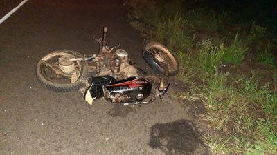 Intendente de Azote'y atropelló a motociclista que falleció tras el choque