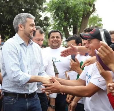 Jefe de Estado desarrolla jornada de gobierno en San Pedro