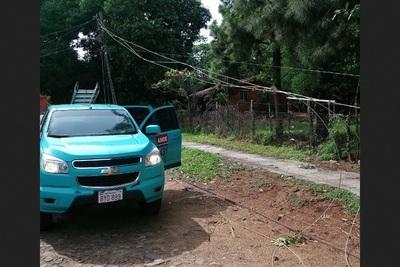 Más de 60 alimentadores averiados tras el temporal en Central