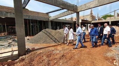 Obras del IPS de Hernandarias deben concluir en abril del 2020