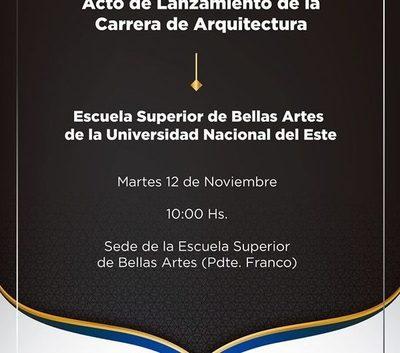 UNE lanzará mañana carrera de Arquitectura en Franco