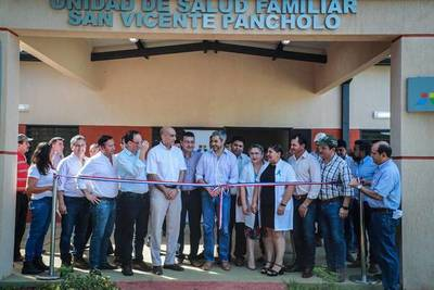 San Pedro: Habilitan tres Unidades de Salud Familiar y pretenden beneficiar a 14.000 personas