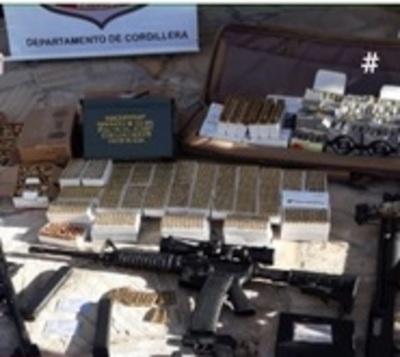 Arsenal en Caacupé levanta sospecha sobre posible tráfico de armas