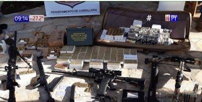 Hallan arsenal en manos de extranjeros en Caacupé