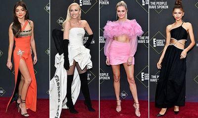 Los mejores looks de los E! People's Choice Awards