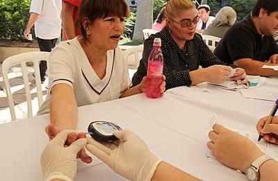 Diabetes: Control y detección gratuitos en varios puntos de Asunción