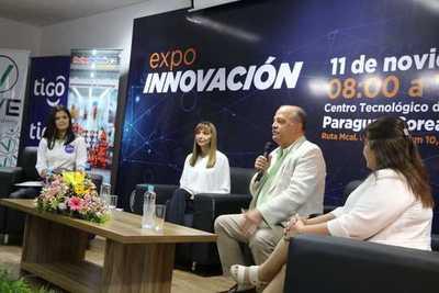 Con exposiciones y charlas inició la Expo Innovación 2019