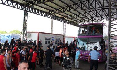Migraciones registró entrada y salida de 40.000 hinchas durante la final de la Copa Sudamericana