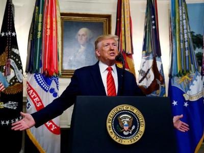 Trump dice que EE. UU. 'aplaude a los militares de Bolivia por proteger la Constitución'