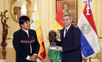 """HOY / """"Abdo dijo que las puertas del Paraguay estaban abiertas para Evo Morales"""""""