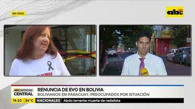 Bolivianos en Paraguay preocupados por situación