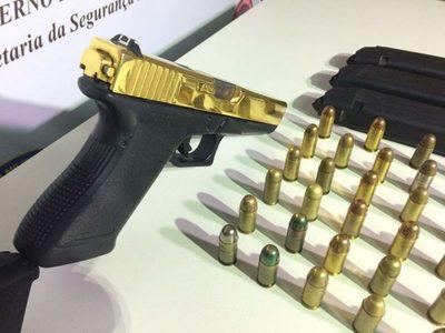 Hallan armas y municiones en una vivienda en Lambaré