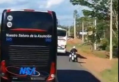 HOY / Conductor temerario pierde su trabajo y licencia tras impedir pase de Olimpia