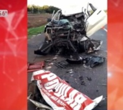 Grave accidente tras colisión y fuga sobre ruta 2