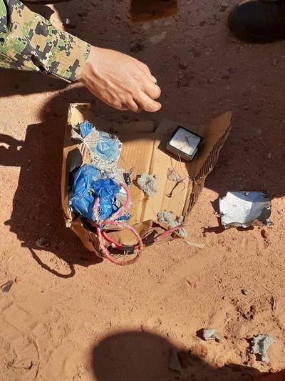 Detonación controlada de bomba casera en Loreto