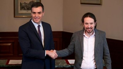 En España progresistas sellan acuerdo para formar gobierno