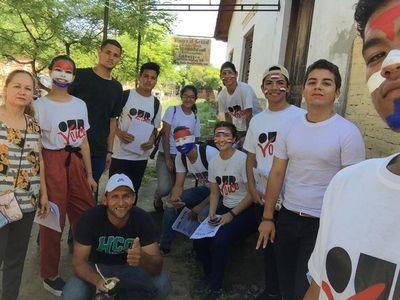 Jóvenes de Presidente Hayes reparten panfletos contra el Clan Núñez