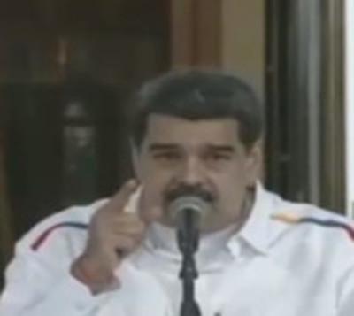 Nicolás Maduro advierte sobre una posible guerra civil