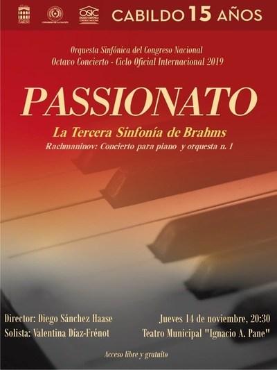 La OSIC cerrará su temporada 2019 con la 3era de Brahms