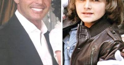 """Hijo de """"Luismi"""" sorprende por el parecido a su papi"""