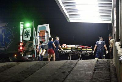 Motociclista gravemente herido tras choque en Santísima Trinidad