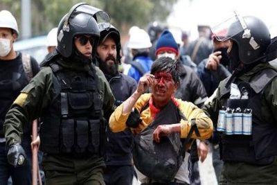 Feroz represión deja un muerto y heridos