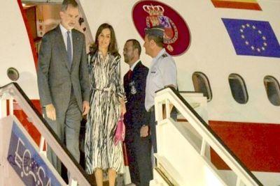 Reyes de España abren fiesta de los 500 años de la capital cubana