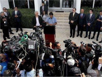 """Evo Morales: Se consumó el """"golpe más nefasto"""" con Jeanine Áñez"""