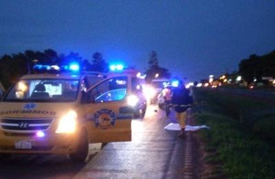 HOY / Motociclista atropella y mata a peatón