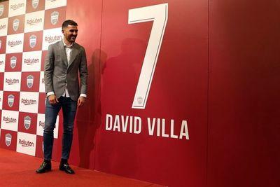 David Villa anunció el retiro