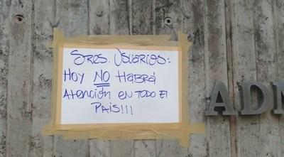 ANDE AVISA: HOY NO HABRÁ ATENCIÓN EN TODO EL PAÍS
