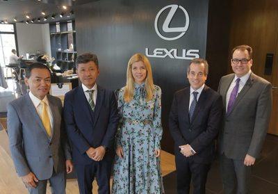 Apertura del nuevo showroom de Lexus