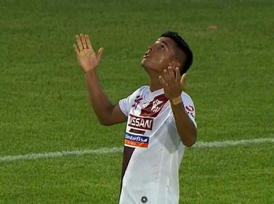 Osmar Colmán anota el mejor gol de la fecha