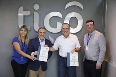 Empresa de telefonía recibe certificación internacional