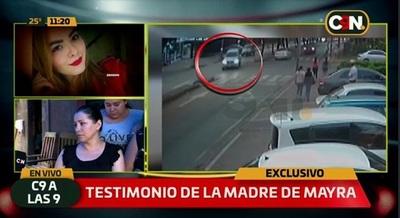 Madre confirma que médico confesó haber matado a Mayra